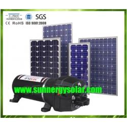 ปั๊มน้ำดีซี24480ลิตรพลังงานแสงอาทิตย์