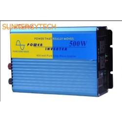 อินเวอเตอร์ 500W Pure Sine Wave STC-S500 ต่อตู้เย็นได้